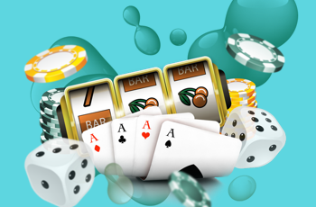 casino attributes cards dice chips slots