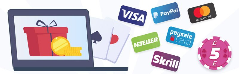 Payment options for £5 deposits - uk-casino.online
