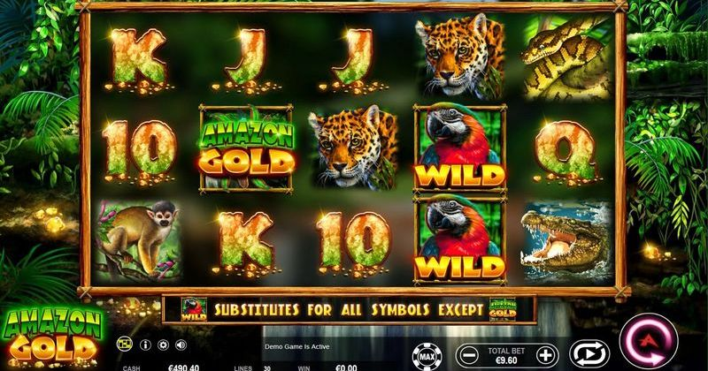 Play in Amazon Gold Slot Online from Ainsworth for free now | Play Casino