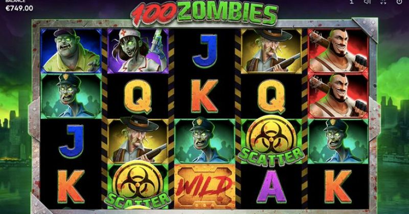 Play in 100 Zombies Slot Online from Endorphina for free now | Play Casino