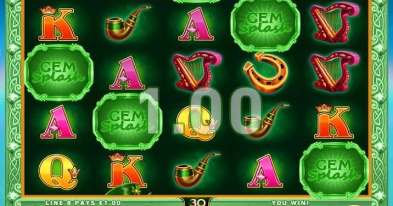Play in Gem Splash: Rainbows Gift Slot Online from PlayTech for free now   Play Casino