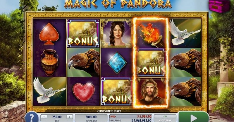 Play in Magic of Pandora Slot Online from 2by2 Gaming for free now | Play Casino