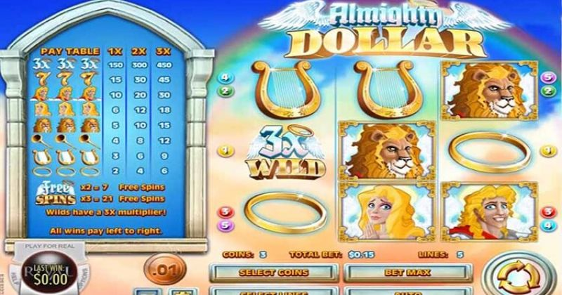 Play in Almighty Dollar Slot Online from Rival for free now | Play Casino