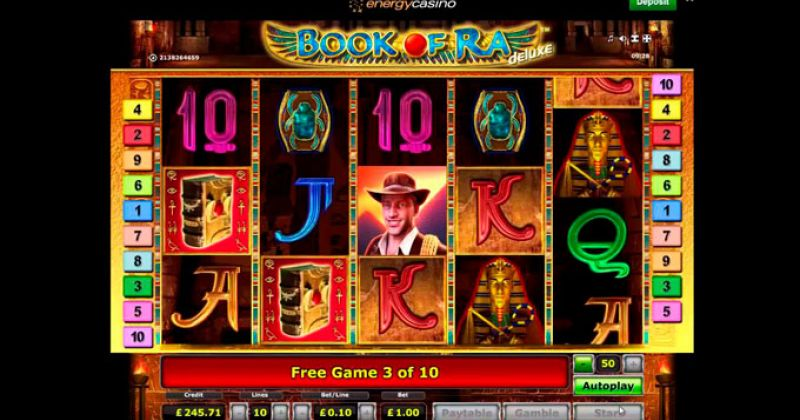 Play in Book Of Ra Slot Online from Novomatic for free now   Play Casino