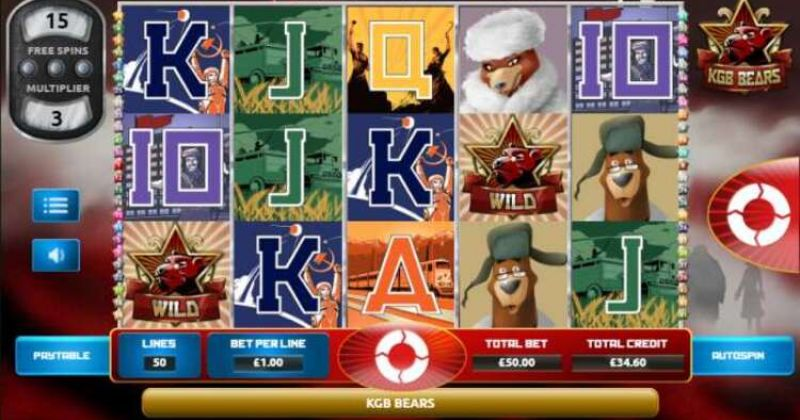 Play in KGB Bears Slot Online From the Games Company for free now   Play Casino