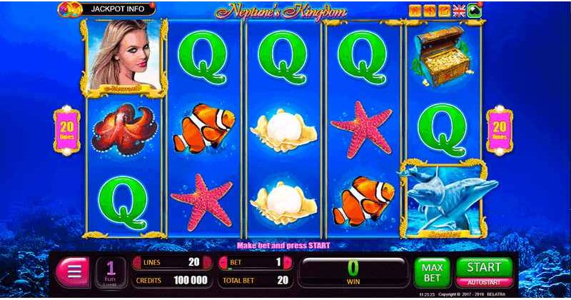 Play in Neptune's Kingdom Slot Online from Belatra for free now | Play Casino