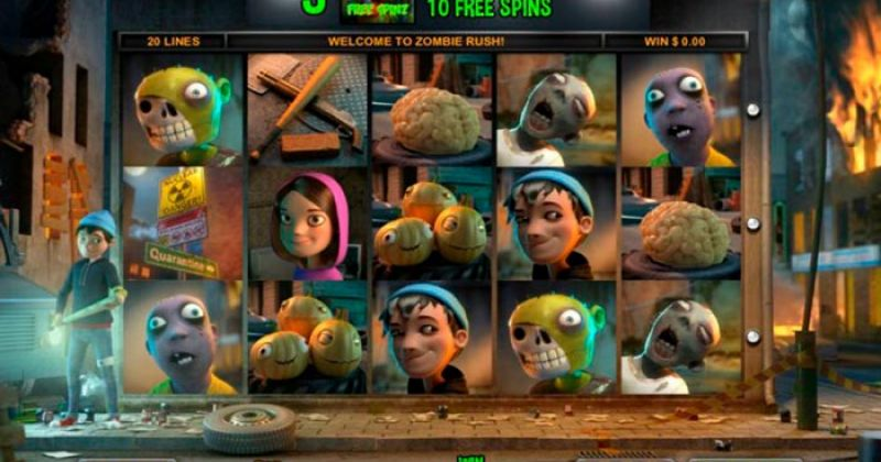 Play in Zombie Rush for free now | Play Casino